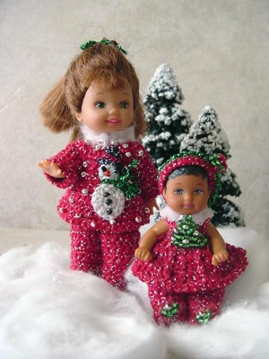 Southern Belle Dress Set for 2 1/2 Inch Krissy Doll